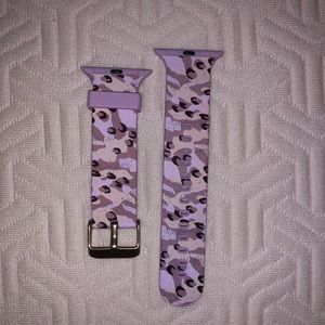 Purple camo Apple Watch Band